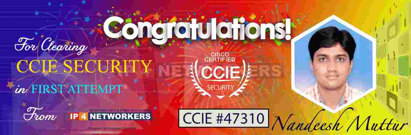 CCIE Security-Training-IP4 Networkers